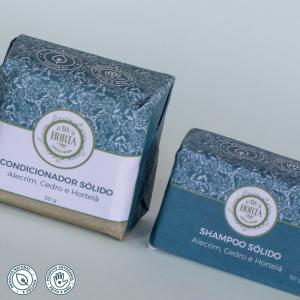 Shampoo Sólido + Condicionador Sólido